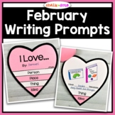 February Writing Prompts - Valentine's Day