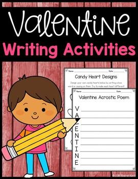 Valentine's Day Writing Activities