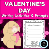 Valentine's Day Writing Prompts and Activities