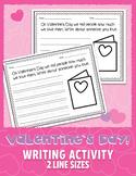 "Valentine's Day Writing Activity - ""Who I Love""   PDF • JP"