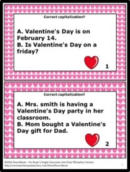 Valentine's Day Capitalization