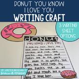 Grandparent's Day Writing Craft