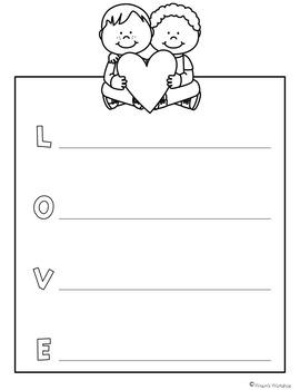 Valentine's Day Writing Craftivities
