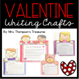 Valentine's Day Writing Crafts