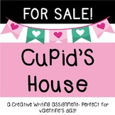 Valentine's Day Writing Cupid's House