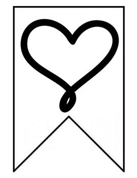 Valentine's Day Writing Decor