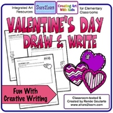 Valentine's Day Writing Draw and Write