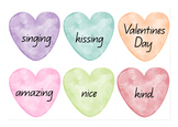 Valentine's Day Writing Experience
