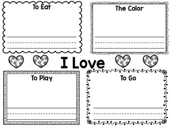 Valentine's Day Writing - FREEBIE!