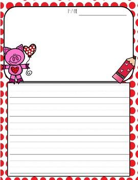 Valentine's Day Writing FREEBIE!