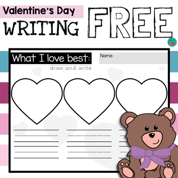 Valentine's Day Writing Free