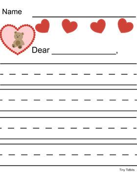 Valentine's Day Writing Freebie