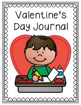 Valentine's Day Writing Journal
