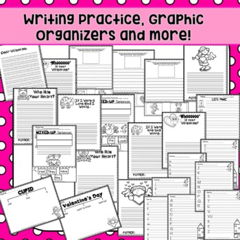 Valentine's Day Writing & Literacy Activities