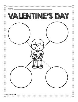 Valentine's Day Writing Pages {Differentiated}