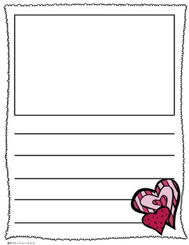 Valentine's Day Writing Pages  *Freebie*