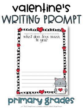 Valentine's Day Writing Prompt