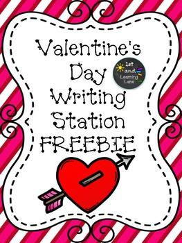 Valentine's Day Writing Prompt FREEBIE
