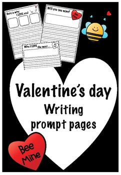 Valentine's Day Writing Prompt Pack