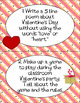 Valentine's Day Activity * Writing Task Cards * 16 ELAR Quick Writes