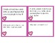Valentine's Day Writing Task Cards