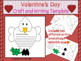 Valentine's Day Writing and Art Activity