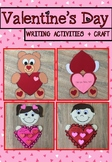 Valentine's Day Writing and Craft Activities
