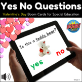 Valentine's Day Yes No Questions BOOM CARDS™ for Speech Therapy