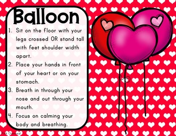 Valentine S Day Yoga Cards And Printables Tpt