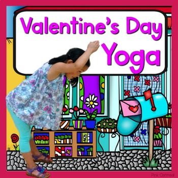 Valentineu0027s Day Kids Yoga Cards And Printables