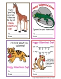 Valentine's Day and Friendship Cut-Out Valentine Cards