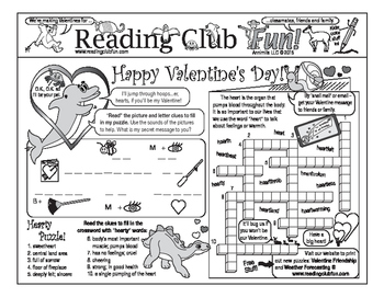Valentine's Day and Friendship Two-Page Activity Set