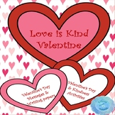 Valentine's Day & Kindness Writing Prompts, Writing Paper