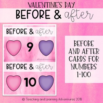 Valentine's Day before and after