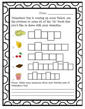 """Valentine's Day """"ch"""" Words"""