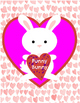 """Valentine's Day decoration, 6 Posters  - decorate your classroom - 8.5""""x11"""""""
