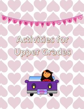 Valentine's Day for Upper Elementary
