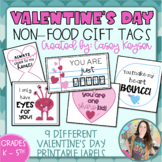 Valentine's Day gift tags (non-food items)