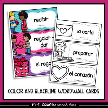 Valentine's Day in Spanish Reading Activities - Dia de San Valentin