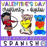Valentine's Day in Spanish - Card Holder - Día de San Valentín