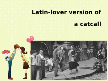 Valentine's Day in Spanish! Los Piropos