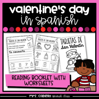 Valentine's Day in Spanish Booklet - Writing Valentine's Day Cards