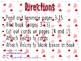 Valentine's Day interactive counting book