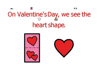 Valentine's Day introductory non-fiction printable/story/slideshow