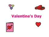 Valentine's Day introductory non-fiction printable/story/s