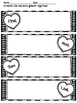 Valentine's Day or Heart Graphic Organizers