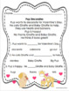 Valentine's Day reading comprehension passages and questions  K - 1