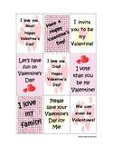 Valentine's Day /v/ Articulation Practice