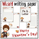 Valentine's Day writing PAPER for HARRY POTTER fans - 20 sheets