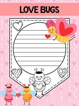 Valentine's DayLove Bug Papers / Banner / Pennant